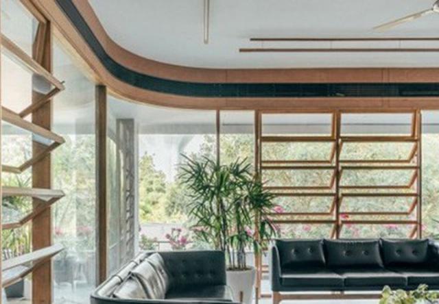 Văn phòng xanh mát mắt gần gũi với thiên nhiên