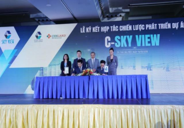 CenLand mở rộng thị trường Bình Dương với dự án C-Sky View