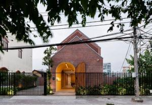 Nhà phố Trà Vinh nổi bật giao thoa giữa cũ và mới