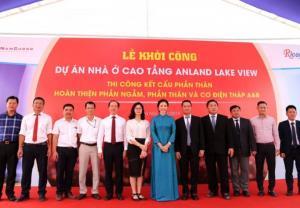 Tập đoàn Nam Cường khởi công toà nhà Anland Lakeview tại khu đô thị Dương Nội, Hà Đông