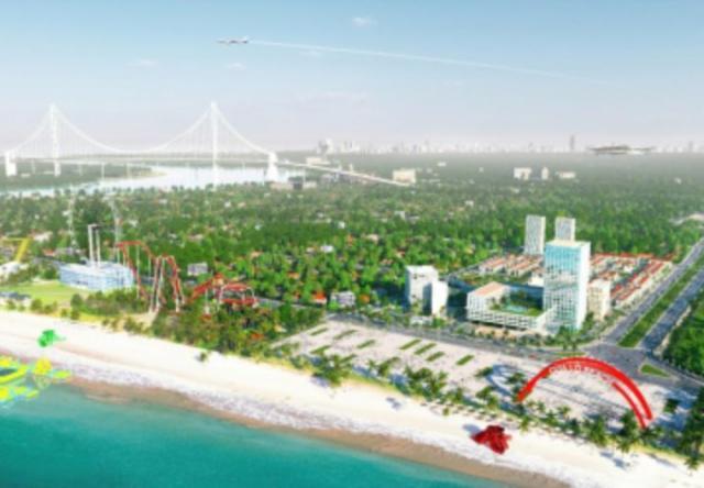 Biển Cửa Lò có dự án biệt thự nghỉ dưỡng 5 sao
