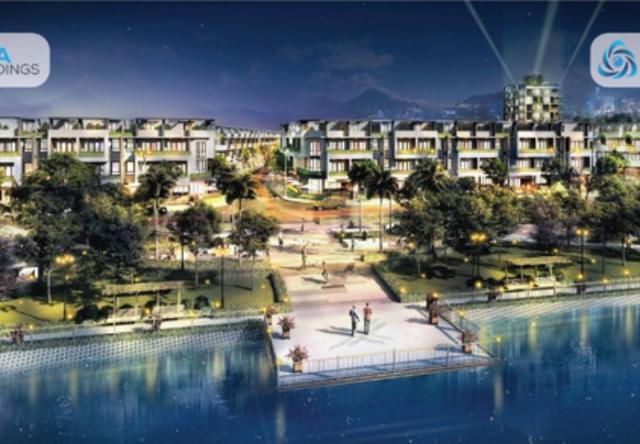 The Pearl Riverside - dự án khu đô thị bên bờ sông Vàm Cỏ