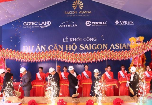 Gotec Land khởi công xây dựng dự án Saigon Asiana