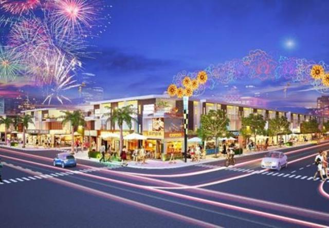 Dự án phố thương mại Lộc Phát công bố giai đoạn hai