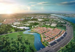 Novaland ra mắt phân khu vị trí cửa ngõ dự án Aqua City