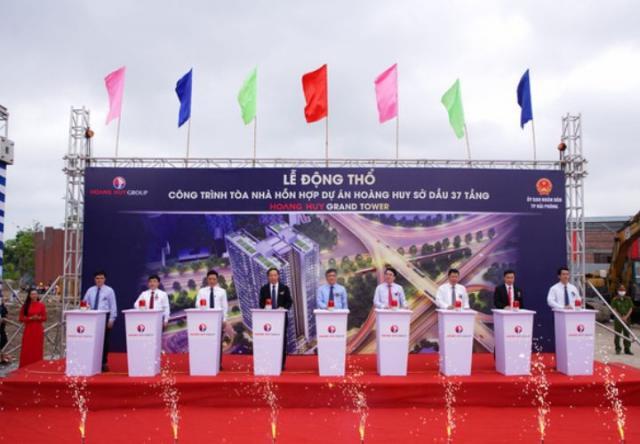 Khởi công dự án mới Hoang Huy Grand Tower tại Hải Phòng