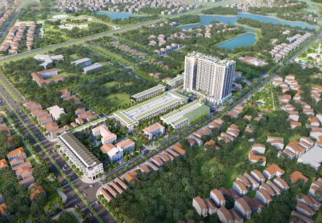 Trung tâm Vĩnh Yên sắp có chung cư cao cấp