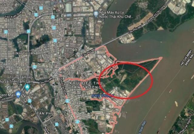 TP.HCM: Sắp điều chỉnh quy hoạch 1/2000 Khu dân cư phía Nam rạch Bà Bướm