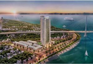 Dự án căn hộ mặt biển cao cấp Green Diamond ra mắt thị trường