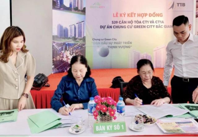 Bắc Giang: Gần 540 căn hộ tái định cư đã được bàn giao cho cư dân