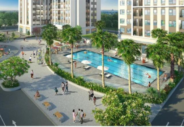 Lễ khởi công dự án chung cư nhà ở xã hội thuộc khu đô thị xanh Bàu Tràm Lakeside - The Ori Garden