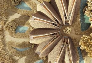 Thiết kế lấy cảm hứng từ thiên nhiên: Khu nghỉ dưỡng hình con sò lợp rơm độc đáo tại Ukraine