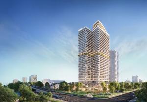 Charm Group ra mắt toà tháp 35 tầng tại Dĩ An