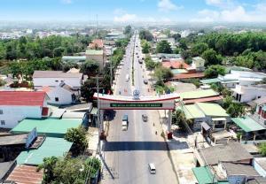 Hàng loạt các công trình hạ tầng được đầu tư tạo bệ phóng cho La Gi lên Thành Phố