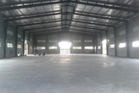 Kho xưởng mới xây dựng cho thuê giá rẻ - Cần Đước - Long An
