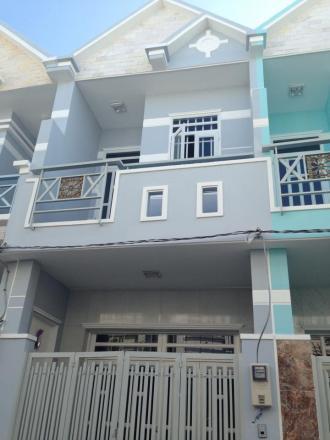 Nhà mới xây Hóc Môn, DT 84m2, sổ hồng riêng