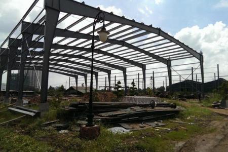 Cho thuê xưởng Đức Hòa Long An 7800m2 xây dựng mới
