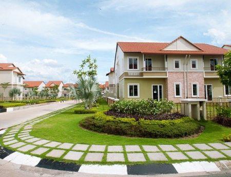 Cần cho thuê gấp căn villa The Oasis 4PN, nội thất đầy đủ