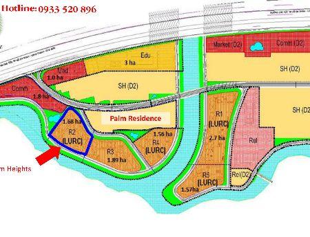 Dự án mới nhất TP. HCM: Palm City, 28 triệu/m2.Lh 0933.520.896