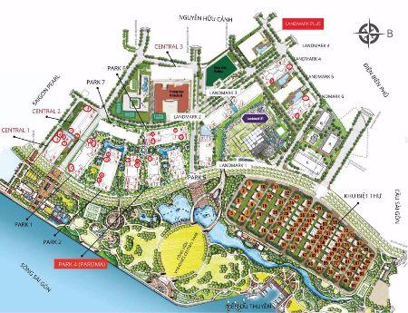 Cho Thuê Shophouse Vinhomes Central Park