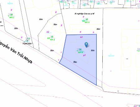 Cần bán khu đất 471m2 mặt tiền 20m 138A Nguyễn Văn Trỗi ,P.8,Q.Phú Nhuận