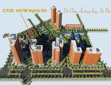 Cho thuê căn hộ  tại chung cư Nghĩa Đô- 106 Hoàng Quốc Việt- từ 6tr/tháng.
