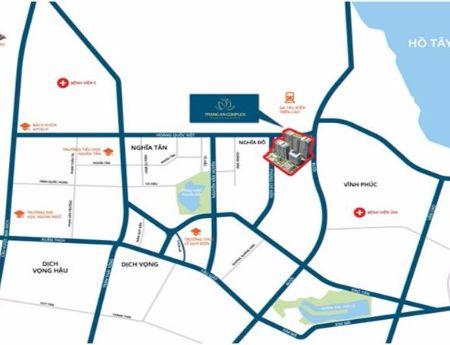 Cho thuê căn hộ cao cấp giá rẻ tại Tràng An complex- từ 9tr/tháng