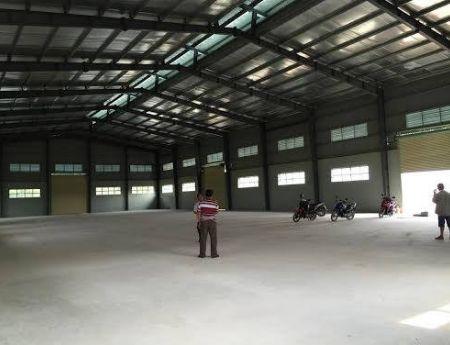 Cho thuê nhà xưởng ở Hà Nội, Mê Linh 1010m đến 4000m gần chợ Quang Minh