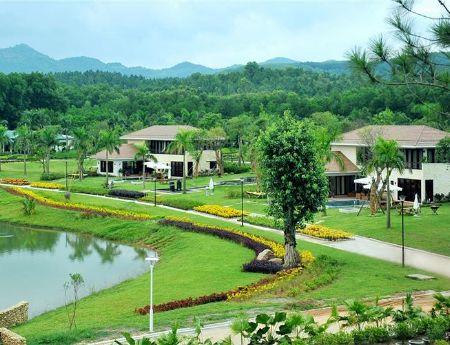 Bán đất biệt thự khu du lịch sinh thái nghỉ dưỡng Vân Trì Vân Nội Đông Anh 400m tới 1600m