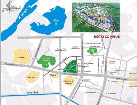 Bán căn 2PN chung cư Nam Cường Hoàng Quốc Việt- tầng đẹp