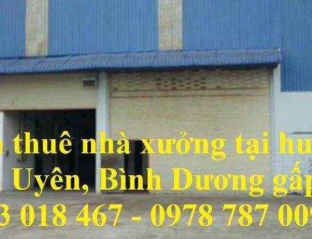 Cần thuê nhà xưởng gấp tại huyện Tân Uyên, Bình Dương 0933 018 467