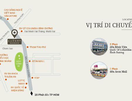 Căn hộ Luxury Residence 4* sàn gỗ MT Đại Lộ Bình Dương TT theo tiến độ, CK 3%, tặng 50% nội thất