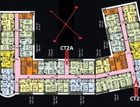 Nam Cường 234 Hoàng Quốc Việt- bán căn 117m2- sổ đỏ- ở ngay- tầng trung