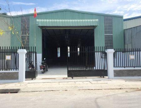 Cho thuê nhà xưởng tại Thái Nguyên Sông Công 300m2 khuôn viên đất 1000m2