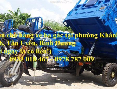 Nhận chở hàng xe ba gác tại phường tân phước khánh, huyện tân uyên, bình dương 0933 018 467 – 0978