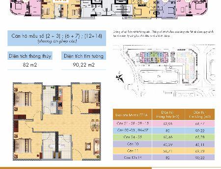 Tôi có căn hộ cần bán 46m2- Tầng trung ( giá 1.340 tỷ) – Chung cư Nghĩa Đô