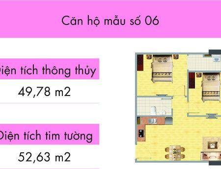 """Chung cư Nghĩa Đô- Bán căn hộ """"2 phòng ngủ"""" giá """"chỉ 1.7 tỷ"""""""