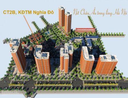 Bán căn hộ KĐT Nghĩa Đô, 41m2,chỉ 1,3 tỷ, thô nguyên bản, ban công Nam