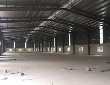 Cho thuê nhà xưởng sản xuất 862m2 tại Hà Nam, Phú Lý, cụm CN Kim Bình