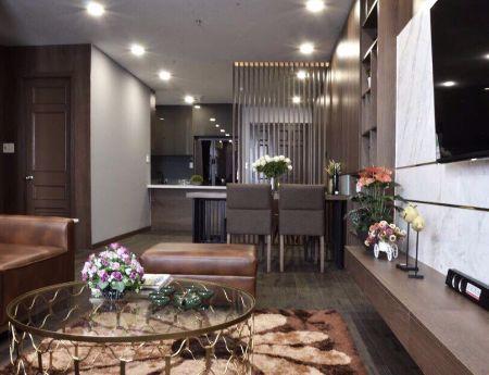 Cần bán gấp căn hộ Giai Việt, DT 115m2, 2 PN, 2.5 tỷ, sổ hồng,  đủ nội thất cao cấp