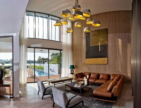 Biệt thự ven sông Holm Villas Thảo Điền 908m2 hướng Đông 5pn 3 tầng hồ bơi sân vườn riêng