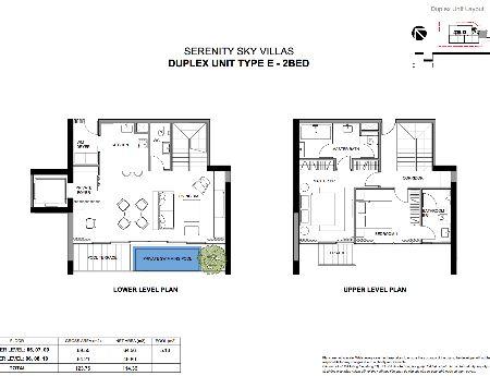 căn hộ siêu sang Serenity Quận 3 2PN bán DT 136m2 tầng 14 hồ bơi riêng