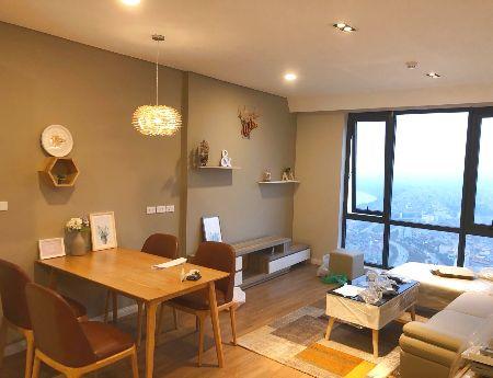 Cho thuê căn hộ 2PN Đủ đồ với phong cách hiện đại, giá rẻ, gần gũi với thiên nhiên