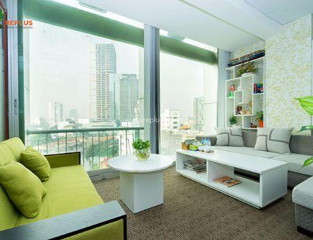 Văn phòng trọn gói hiện đại, sang trọng tại tòa nhà Pearl Plaza view Sông Sài Gòn giá rẻ hấp dẫn