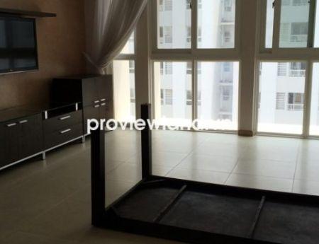 Sky Villa Imperia An Phu apartment for rent at high floor area 230sqm 4 bedrooms has garden