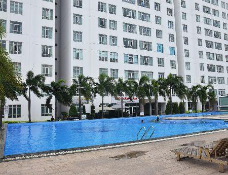 Cần bán gấp căn hộ tầng trệt Giai Việt, DT 150m2, 3pn, giá 4.1 tỷ/căn