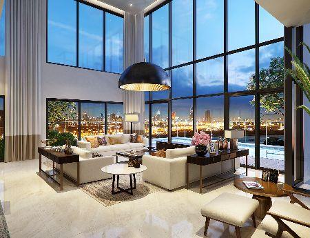 Apartment Duplex Gateway Thao Dien B Tower 16-17th floor area 220sqm 4 bedrooms