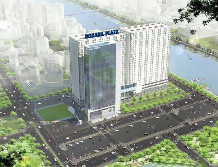 ROXANa PLAza Căn hộ một mặt tiền ba mặt sông chỉ 300tr/căn hỗ trợ vốn đến 70%