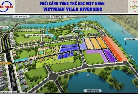 Sang nhượng nhanh lô đất ở gần đường Nguyễn Xiển, 1.2 tỷ, nằm ven sông, hạ tầng đẹp