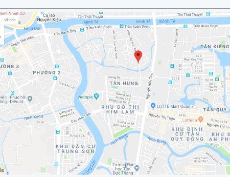 Cho thuê nguyên căn nhà mới, nội thất đầy đủ hẻm 793 Trần Xuân Soạn Tân Hưng, Q7